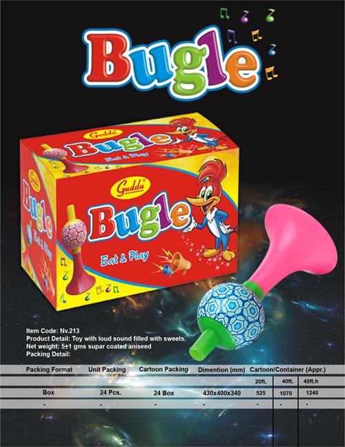 Bugle-detail