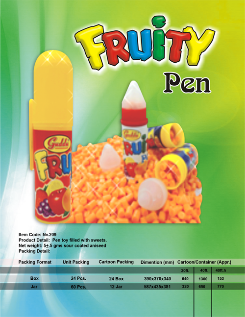 Fruit-pen